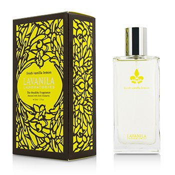 Lavanila Laboratories The Healthy Fragrance Spray - Fresh Vanilla Lemon 50ml/1.7oz