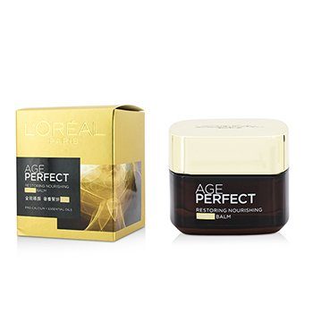 L'Oreal �������ҧ�׹ Age Perfect Restoring Nourishing Night Balm  50ml/1.69oz