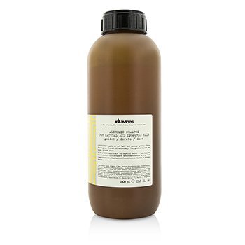 Davines ���� Alchemic Shampoo Golden (For Natural & Coloured Golden Blonde & Honey Blonde Hair)  1000ml/33.8oz