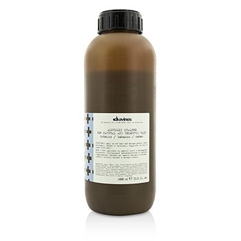 Davines Alchemic Shampoo Tobacco (For Natural & Mid to Light Brown Hair)  1000ml/33.8oz