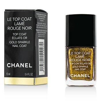 ����Le Top Coat Lame Rouge Noir - # Gold Sparkle Nail Coat 13ml/0.4oz