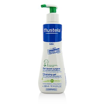 Mustela Cleansing Gel with Cold Cream nutri-protective  300ml/10.14oz