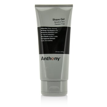 Anthony Logistics For Men Gel Para Afeitar (Piel Sensible)  177ml/6oz