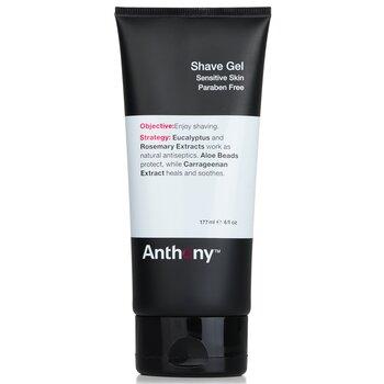 AnthonyLogistics For Men Shave Gel (Sensitive Skin) 177ml/6oz