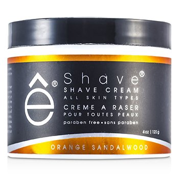 EShaveShave Cream - Orange Sandalwood 120g/4oz