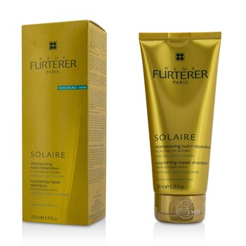 Rene Furterer Solaire Nourishing Repair Shampoo with Jojoba Wax - After Sun  200ml/6.76oz