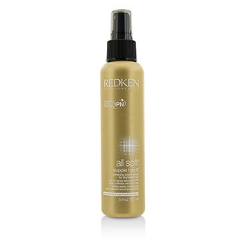 Redken All Soft Supple Touch Softening Cream-Spray (For Dry/ Brittle Hair)  150ml/5oz