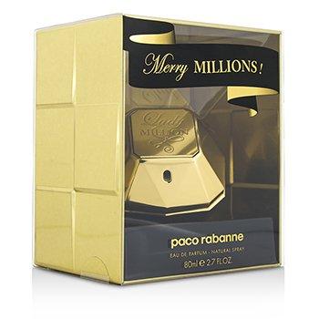 Paco Rabanne Lady Million Merry Millions Парфюмированная Вода Спрей 80ml/2.7oz