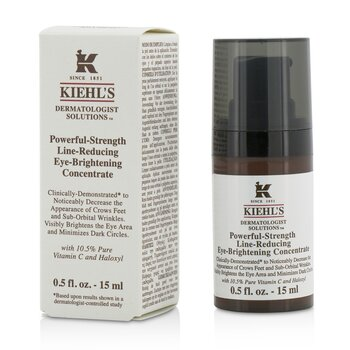 Kiehl'sPowerful Strength Line Reducing Eye Brightening Concentrate 15ml/0.5oz