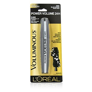 L'OrealVoluminous Power Volume 24H Mascara - #Black Brown 10ml/0.33oz