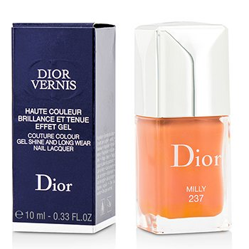 Christian Dior Dior Vernis Couture Colour Gel Shine & Long Wear Nail Lacquer - # 237 Milly  10ml/0.33oz