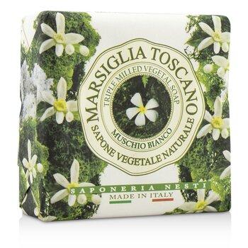 Marsiglia Toscano Растительное Мыло Тройного Помола - Muschio Bianco 200g/7oz