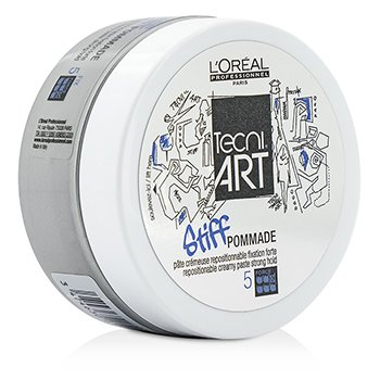 L'Oreal Professionnel Tecni.Art Stiff Pommade Repostionable Creamy Paste (Strong Hold - Force 5)  100ml/3.3oz
