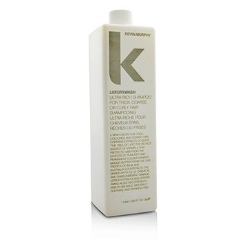 Kevin.Murphy Luxury.Wash (Ultra Rich Shampoo - For Thick  Coarse or Curly Hair) 1000ml/33.6oz
