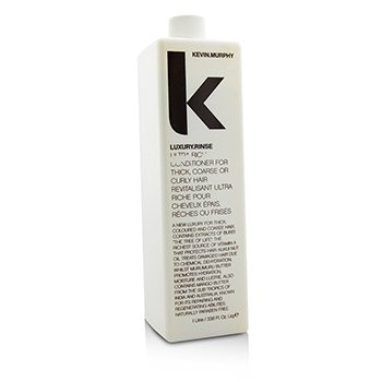 Kevin.Murphy Luxury.Rinse (Ultra Rich Conditioiner - For Thick  Coarse or Curly Hair) 1000ml/33.6oz