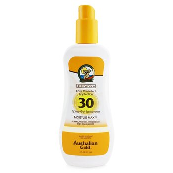 Australian Gold Spray Gel Sunscreen Broad Spectrum SPF 30 237ml/8oz