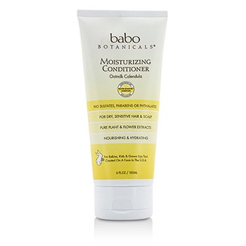 Babo Botanicals Moisturizing Conditioner (For Sensitive & Dry Hair & Scalp) 180ml/6oz