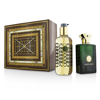 AmouageEpic Coffret: Eau De Parfum Spray 100ml/3.4oz + Bath & Shower Gel 300ml/10oz 2pcs