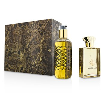 AmouageGold Coffret: Eau De Parfum Spray 100ml/3.4oz + Bath & Shower Gel 300ml/10oz 2pcs