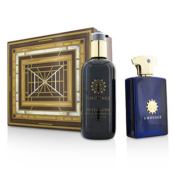 AmouageInterlude Coffret: Eau De Parfum Spray 100ml/3.4oz + Bath & Shower Gel 300ml/10oz 2pcs