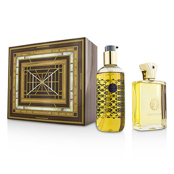 AmouageJubilation XXV Coffret: Eau De Parfum Spray 100ml/3.4oz + Bath & Shower Gel 300ml/10oz 2pcs