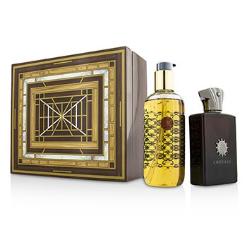 AmouageLyric Coffret: Eau De Parfum Spray  100ml/3.4oz + Bath & Shower Gel 300ml/10oz 2pcs