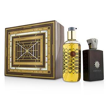 AmouageLyric Coffret Eau De Parfum Spray 100ml 3.4oz Bath Shower Gel 300ml 10oz 2pcs
