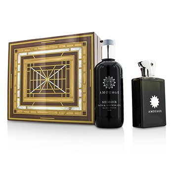 AmouageMemoir Coffret: Eau De Parfum Spray 100ml/3.4oz + Bath & Shower Gel 300ml/10oz 2pcs