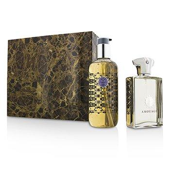 Amouage Reflection Coffret: Eau De Parfum Spray 100ml/3.4oz + Bath & Shower Gel 300ml/10oz  2pcs