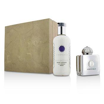 Amouage Reflection Coffret: Eau De Parfum Spray 100ml/3.4oz + Body Lotion 300ml/10oz  2pcs