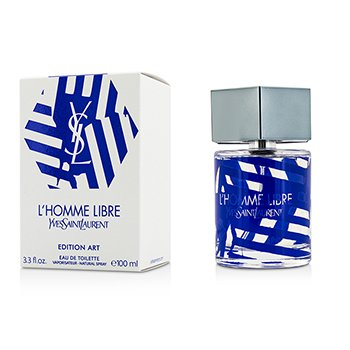 Yves Saint Laurent L'Homme Libre Eau De Toilette Spray (Edition Art)  100ml/3.3oz