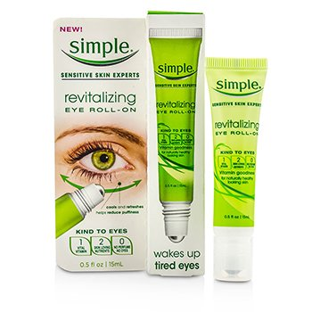 SimpleRevitalizing Eye Roll-On 15ml/0.5oz