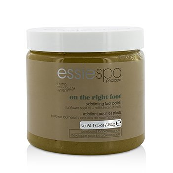 EssieSpa Pedicure Hydra-Resurfacing System On The Right Foot Exfoliating Foot Polish (Salon Product) 495g/17.5oz