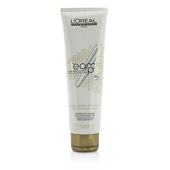 L'Oreal Professionnel Steampod Steam Activated Care Smoothing Cream (For Thick Hair)  150ml/5oz