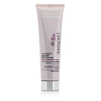 L'Oreal Professionnel Expert Serie - Vitamino Color Soft Cleanser Color Radiance Protection + Perfecting Soft Shampoo  150ml/5oz