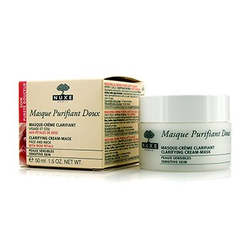 Nuxe Masque Purifiant Doux Clarifying Cream-Mask - Sensitive Skin (Exp. Date 09/2016)  50ml/1.8oz