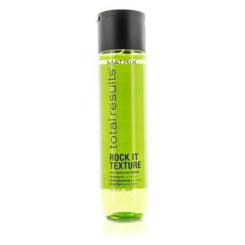 MatrixTotal Results Rock It Texture Polymers Shampoo (For Texture) 300ml/10.1oz