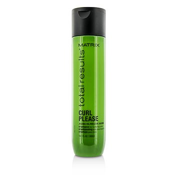 Matrix Total Results Curl Please Jojoba Oil Shampoo (For Nurturing Curls)  300ml/10.1oz