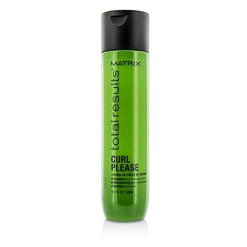 Matrix Total Results Curl Please Jojoba Oil Shampoo (For Nurturing Curls)  300ml/10.1oz