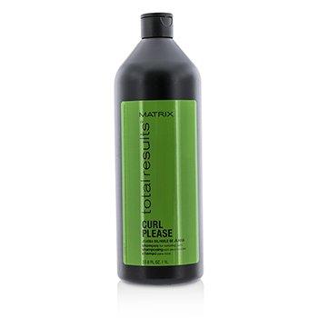Matrix Total Results Curl Please Jojoba Oil Shampoo (For Nurturing Curls) 1000ml/33.8oz