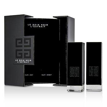 Le Soin Noir L'Extrait: L'Extrait Дневная Сыворотка 15мл/0.5унц + L'Extrait Ночная Сыворотка 15мл/0.5унц 2pcs фото