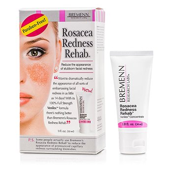 Bremenn Research LabsClinical Strength Rosacea Redness Rehab 30ml/1oz