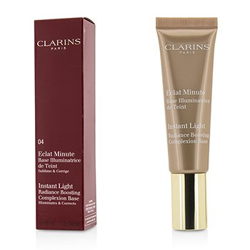 Clarins Instant Light Radiance Boosting Complexion Base - # 04 Apricot  30ml/1oz