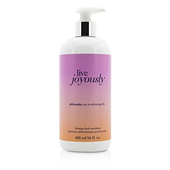 PhilosophyLive Joyously Firming Body Emulsion 480ml/16oz