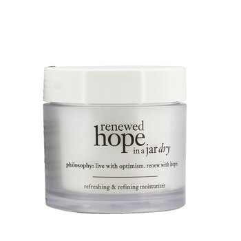 Philosophy Renewed Hope In A Jar Refreshing & Refining Moisturizer For Dry Skin  60ml/2oz