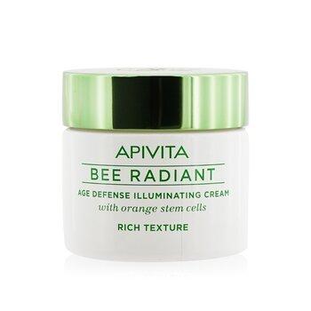 Apivita Bee Radiant Age Defense Illuminating Cream - Rich Texture  50ml/1.76oz