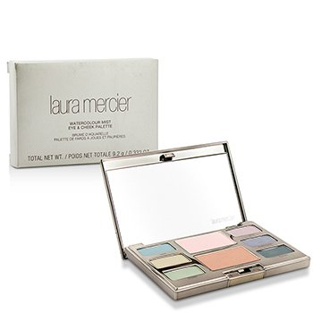 Laura Mercier Watercolour Mist Eye & Cheek Palette (6x Eye Color 2x Cheek Color) 9.2g/0.31oz