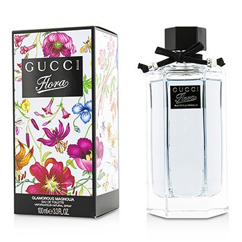 Gucci Flora by Gucci Glamorous Magnolia Eau De Toilette Spray (New Packaging)  100ml/3.3oz
