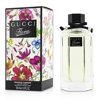 Gucci Flora by Gucci Gracious Tuberose Eau De Toilette Spray (New Packaging)  100ml/3.3oz