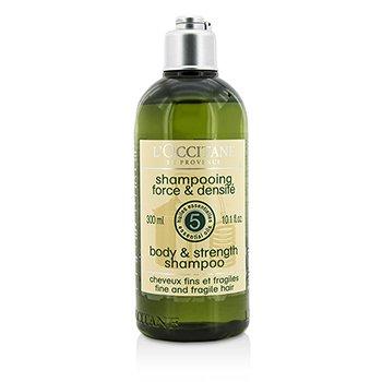 Купить Aromachologie Body & Strength Шампунь (для Тонких и Ломких Волос) 300ml/10.1oz, L'Occitane